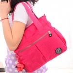 กระเป๋าสะพาย Jin Qiaoer ทำจากไนล่อน กันน้ำ คุณภาพดี ขนาดกระทัดรัด สีสันสดใส เหมาะกับทุกโอกาส