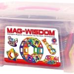 ชุดตัวต่อแม่เหล็ก MAG-WISDOM แบบถัง 108 ชิ้น พร้อมคู่มือการเล่น