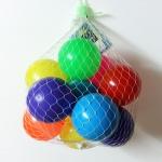 ของเล่นลูกบอลพลาสติกลอยน้ำ Soft Ball 10 ลูก