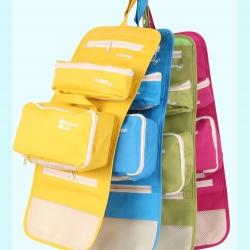 กระเป๋าใส่อุปกรณ์อาบน้ำ คุณภาพดี แขวนได้ ดึงกระเป๋าอีกสองใบแยกใช้ได้