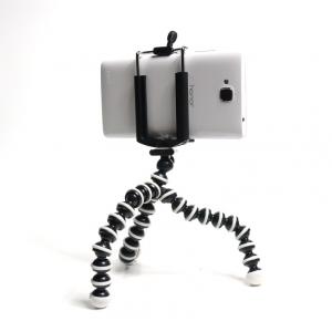 The Octopus ขาตั้งกล้องพร้อมตัวคีบมือถือ แขนจับกล้องดิจิตอล