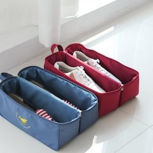 กระเป๋าใส่รองเท้ากันน้ำ อุปกรณ์ห้องน้ำ ผ้าขนหนู หรืออื่น ๆ ได้ตามต้องการ มี 4 สี 4 ลาย ให้เลือก