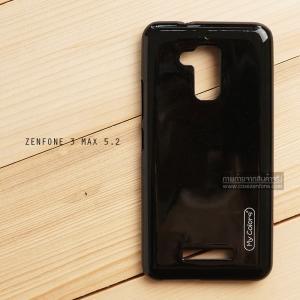 """เคส Zenfone 3 Max ZC520TL (5.2"""" นิ้ว) เคสนิ่มผิวเงา (MY COLORS) สีดำ"""