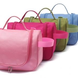 กระเป๋าใส่อุปกรณ์ห้องน้ำ ใส่อุปกรณ์อาบน้ำ สำหรับเดินทาง ท่องเที่ยว แขวนได้ กันน้ำ คุ้มค่า