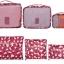 ชุดจัดกระเป๋าเดินทาง 6 ใบ จัดระเบียบเสื้อผ้าในบ้าน กันน้ำ ใส่เสื้อผ้า ชุดชั้นใน เครื่องสำอาง มี 5 สีให้เลือก thumbnail 37
