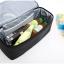 กระเป๋าเก็บความเย็น สะพายได้ เป็นตาข่าย เก็บอุณหภูมิร้อน-เย็น รูปทรงสวย เก๋ กะทัดรัด คุณภาพดี มีดีไซน์ (สีดำ) thumbnail 5