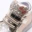 รองเท้าคัชชูเด็กเล็ก สีทองเมทัลลิค มีไฟ+เรืองแสงในที่มืด Size 26 - 30 thumbnail 4