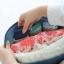 กระเป๋าใส่ชุดชั้นใน กางเกงชั้นใน ขนาดใหญ่พิเศษ แบ่งช่องสองด้าน ใส่ได้หลายตัว มี 4 สี 4 ลาย thumbnail 17