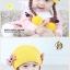 หมวกเด็กอ่อนไหมพรม Tianyi Bear ดีไซน์เปียทวิตไหมสองข้างน่ารักโดดเด่น thumbnail 6
