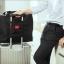 กระเป๋าเดินทางพับเก็บได้ อเนกประสงค์ เพื่อการเดินทาง ท่องเที่ยว เสียบที่จับของกระเป๋าเดินทางได้ thumbnail 1