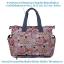 Ecosusi กระเป๋าสัมภาระคุณแม่ ช่วยจัดระเบียบของให้ลูกน้อย กันน้ำ ช่องเยอะ (ECOSUSI Large Diaper Tote Baby Mummy Bag) thumbnail 4