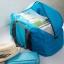 กระเป๋าเดินทางพับเก็บได้ ใบใหญ่ จุของได้เยอะ น้ำหนักเบา พกพาสะดวก ผลิตจากไนล่อนกันน้ำ เหมาะสำหรับเดินทาง ท่องเที่ยว thumbnail 5