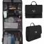 กระเป๋าใส่อุปกรณ์อาบน้ำ คุณภาพสูง ใส่อุปกรณ์อาบน้ำ แขวนได้ สำหรับเดินทาง ท่องเที่ยว (สีดำ) thumbnail 1