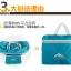 Foldable Duffle Travel Bag กระเป๋าเดินทางพับเก็บได้ขนาดใหญ่ 30 ลิตร สะพายได้ ใส่เพื่อเดินทางหรือเล่นกีฬา มี 6 สีให้เลือก รับประกัน 30 วัน thumbnail 19
