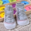 ถุงเท้าเด็กอ่อน 0-12 เดือน พิมพ์ลายรองเท้าผ้าใบ พื้นมีกันลื่น thumbnail 5