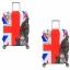 (พิมพ์ลาย ขนาด S) ผ้าคลุมกระเป๋าเดินทาง ขนาด 18 - 20 นิ้ว มี 10 ลาย 10 แบบให้เลือก thumbnail 24