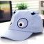 หมวกแคปเด็กอ่อน ปักรูปหน้าสัตว์ มีหูตั้ง น่ารัก ขนาด 6-18 เดือน thumbnail 2