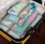 ชุดจัดกระเป๋าเดินทางตาข่าย 4 ใบ/ชุด จัดกระเป๋าเดินทาง แบ่งสัมภาระให้เป็นสัดส่วน (4 in 1 Travel Mesh Organizer Bags) thumbnail 1