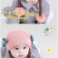 หมวกเด็กอ่อนไหมพรม Tianyi Bear ดีไซน์เปียทวิตไหมสองข้างน่ารักโดดเด่น thumbnail 10