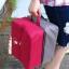 กระเป๋าใส่รองเท้ากันน้ำ อุปกรณ์ห้องน้ำ ผ้าขนหนู หรืออื่น ๆ ได้ตามต้องการ มี 4 สี 4 ลาย ให้เลือก thumbnail 27
