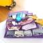 ชุดจัดกระเป๋าเดินทางตาข่าย 4 ใบ/ชุด จัดกระเป๋าเดินทาง แบ่งสัมภาระให้เป็นสัดส่วน (4 in 1 Travel Mesh Organizer Bags) thumbnail 22