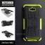 เคส Zenfone Max กรอบบั๊มเปอร์ กันกระแทก Defender สีเขียวอ่อน (เป็นขาตั้งได้) thumbnail 1