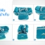 Foldable Duffle Travel Bag กระเป๋าเดินทางพับเก็บได้ขนาดใหญ่ 30 ลิตร สะพายได้ ใส่เพื่อเดินทางหรือเล่นกีฬา มี 6 สีให้เลือก รับประกัน 30 วัน thumbnail 13