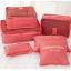 DINIWELL Travel Receive Bag ชุดจัดกระเป๋าเดินทาง 6 ใบ แบ่งใส่เสื้อผ้า กางเกง ชุดชั้นใน กางเกงใน อุปกรณ์ไอที ฯ ผลิตจากวัสดุกันน้ำคุณภาพดี มี 9 สีให้เลือก thumbnail 27