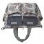 Ecosusi กระเป๋าสัมภาระสำหรับคุณแม่ กระเป๋าใส่ผ้าอ้อม แขวนรถเข็นเด็กได้ หิ้ว หรือสะพายไหล่ได้ (Grey) thumbnail 6