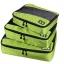 ชุดจัดกระเป๋าเดินทางคุณภาพดีมาก 3 ใบต่อชุด ใส่เสื้อ, กางเกง, กระโปรง, ผ้าขนหนู (Ecosusi 3 Set Packing Cubes - Travel Organizers) thumbnail 24