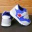 รองเท้าคัชชูเด็กเล็ก สีฟ้าเทาดาวแดง Sport ผ้าตาข่ายฟองน้ำนิ่ม (เท้ายาว 10-12.5 ซม.) thumbnail 5