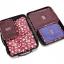 ชุดจัดกระเป๋าเดินทาง 6 ใบ จัดระเบียบเสื้อผ้าในบ้าน กันน้ำ ใส่เสื้อผ้า ชุดชั้นใน เครื่องสำอาง มี 5 สีให้เลือก thumbnail 41