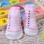 ถุงเท้าเด็กอ่อน 0-12 เดือน พิมพ์ลายรองเท้าผ้าใบ พื้นมีกันลื่น thumbnail 8
