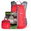 กระเป๋าเป้พับเก็บได้ รุ่นใหม่ สะพายหลังได้ น้ำหนักเบา พกพาสะดวก ทำจากไนล่อนคุณภาพสูง กันน้ำ ทนทาน เหมาะสำหรับเดินทาง และทำกิจกรรมโปรด (Lightweight Foldable Waterproof Backpack) thumbnail 19