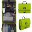กระเป๋าใส่อุปกรณ์อาบน้ำ คุณภาพสูง ใส่อุปกรณ์อาบน้ำ แขวนได้ สำหรับเดินทาง ท่องเที่ยว (สีเขียว) thumbnail 1