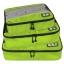 ชุดจัดกระเป๋าเดินทางคุณภาพดีมาก 3 ใบต่อชุด ใส่เสื้อ, กางเกง, กระโปรง, ผ้าขนหนู (Ecosusi 3 Set Packing Cubes - Travel Organizers) thumbnail 2