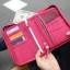 กระเป๋าใส่พาสปอร์ตสั้น กระเป๋าใส่หนังสือเดินทาง ขนาดกะทัดรัด ช่องเยอะ ใส่เอกสารสำคัญ ธนบัตร บัตรต่าง ๆ พกพาสะดวก ผลิตจากโพลีเอสเตอร์กันน้ำ คุณภาพดี thumbnail 40