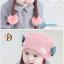 หมวกเด็กอ่อนไหมพรม Tianyi Bear ดีไซน์เปียทวิตไหมสองข้างน่ารักโดดเด่น thumbnail 9