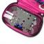 กระเป๋าใส่เครื่องประดับ จัดเก็บสร้อยข้อมือ ต่างหู แหวน สร้อยคอ กำไล นาฬิกา คุณภาพสูง (Rose Pink) thumbnail 5
