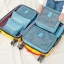 DINIWELL Travel Receive Bag ชุดจัดกระเป๋าเดินทาง 6 ใบ แบ่งใส่เสื้อผ้า กางเกง ชุดชั้นใน กางเกงใน อุปกรณ์ไอที ฯ ผลิตจากวัสดุกันน้ำคุณภาพดี มี 9 สีให้เลือก thumbnail 21