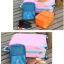 กระเป๋าใส่รองเท้า เสียบกระเป๋าเดินทางได้ ผลิตจากโพลีเอสเตอร์กันน้ำ + ตาข่าย คุณภาพดี มี 6 สี ให้เลือก thumbnail 4