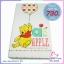 ชุดที่นอนเด็กแรกเกิด ลิขสิทธิ์แท้ หมีพู ขนาด 24x40x2.5 นิ้ว thumbnail 2