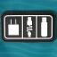 กระเป๋าใส่อุปกรณ์อิเล็กทรอนิกส์ สำหรับใส่อุปกรณ์ไอที มีช่องใส่ SIM, SD CARD ฮาร์ดดิสก์เฉพาะ (Sky Blue) thumbnail 9
