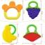 ยางกัดซิลิโคนผลไม้ DUOLADUOBU สำหรับเด็กเล็ก BPA-Free thumbnail 8