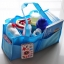 กระเป๋า bag in bag ช่องแบ่งของใช้เด็ก มีสีฟ้า/ชมพู thumbnail 1