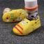 รองเท้าหัดเดินเด็กอ่อน ลายแมวสีเหลือง วัย 0-12 เดือน thumbnail 1