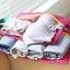 ชุดจัดกระเป๋าเดินทางตาข่าย 4 ใบ/ชุด จัดกระเป๋าเดินทาง แบ่งสัมภาระให้เป็นสัดส่วน (4 in 1 Travel Mesh Organizer Bags) thumbnail 41