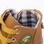 รองเท้าคัชชูเด็กชาย สีเหลืองน้ำตาลสุดเท่ ผูกเชือกหลอก มีซิปข้าง Size 26-30 (เท้ายาว 14-17 ซม.) thumbnail 6