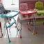 เก้าอี้ทานข้าวเด็ก 3 in 1 Booster ขาตั้งปรับระดับได้ thumbnail 5
