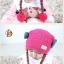 หมวกเด็กอ่อนไหมพรม Tianyi Bear ดีไซน์เปียทวิตไหมสองข้างน่ารักโดดเด่น thumbnail 15